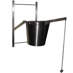 Courage bucket – stainless steel